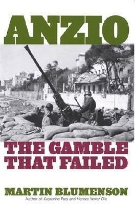 Anzio: The Gamble That Failed als Taschenbuch