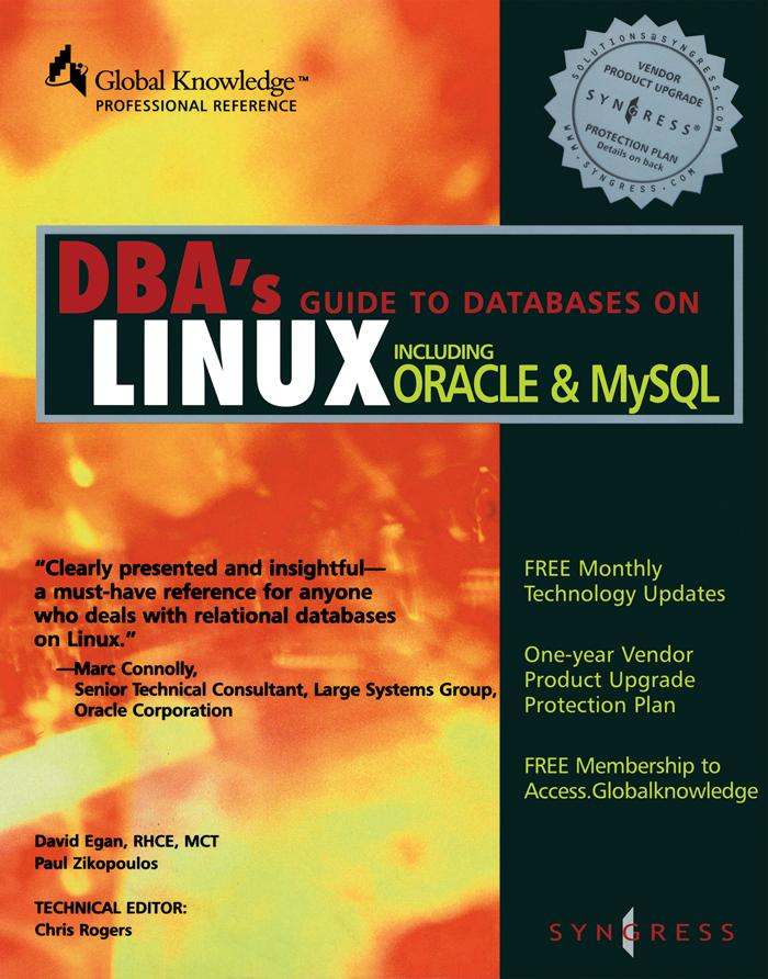 DBAs Guide to Databases Under Linux als eBook D...