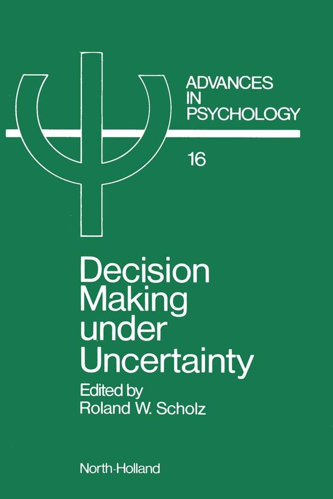 Decision Making under Uncertainty als eBook Dow...