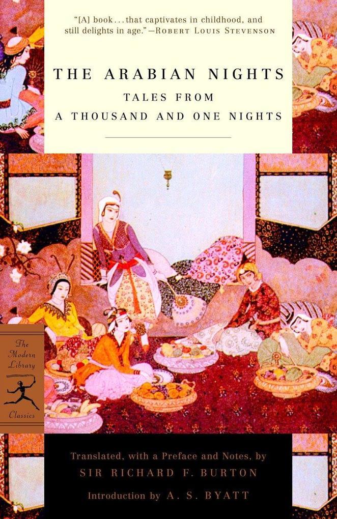 Mod Lib Arabian Nights als Taschenbuch