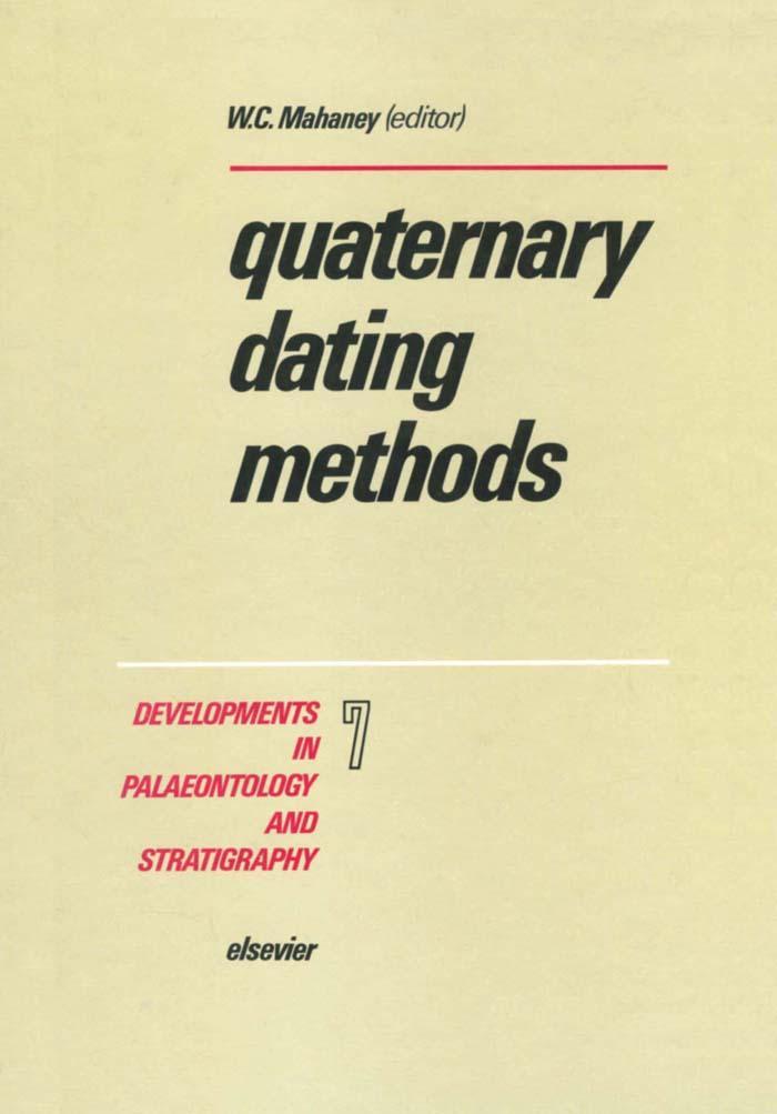 Quaternary Dating Methods als eBook Download von