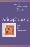 Aristophanes, 2: Wasps, Lysistrata, Frogs, the Sexual Congress