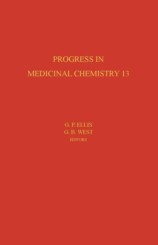 Progress in Medicinal Chemistry als eBook Download von