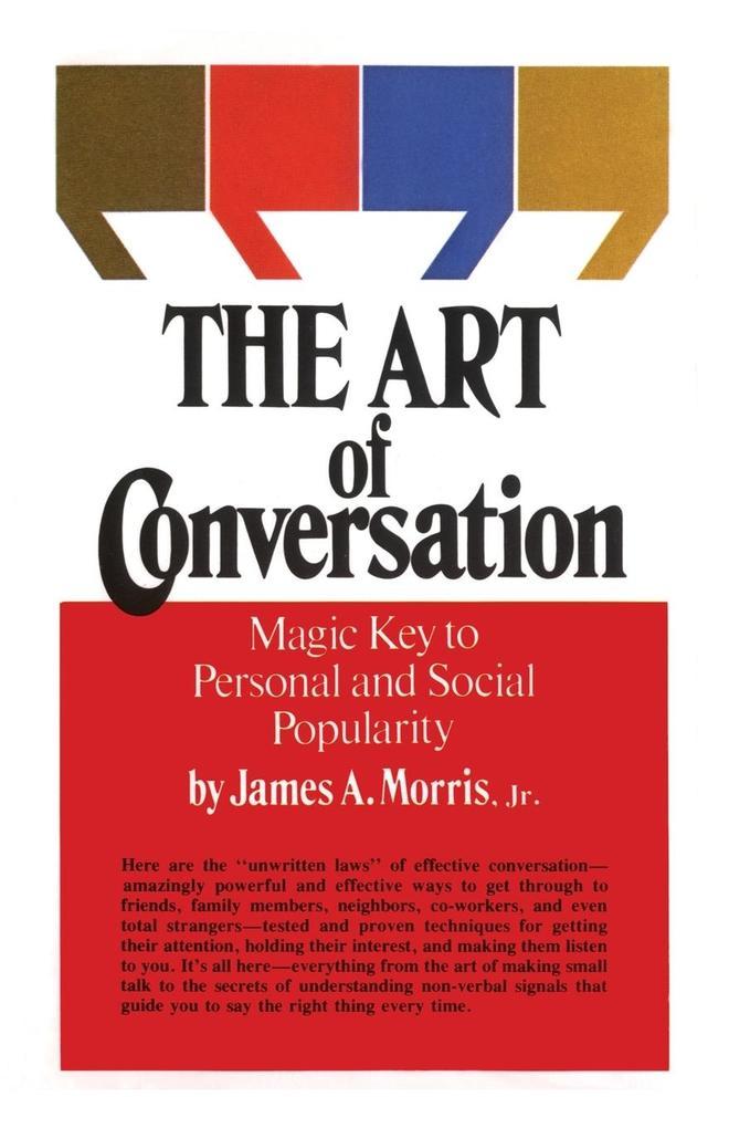 Art of Conversation als Taschenbuch