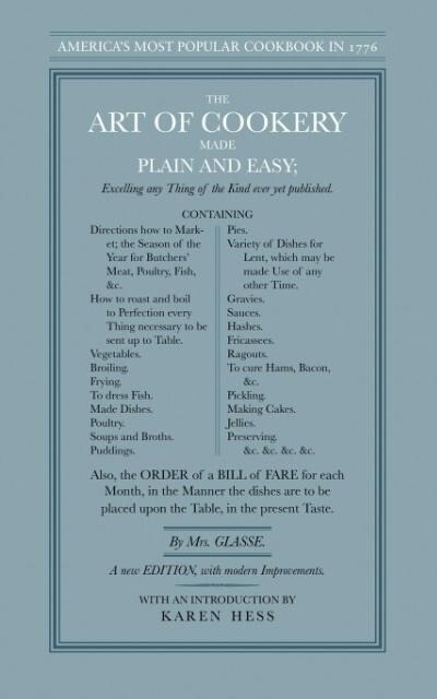 The Art of Cookery Made Plain and Easy als Taschenbuch