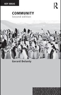 Community als eBook Download von Gerard Delanty