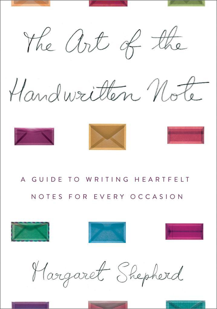 Art Of The Handwritten Note als Buch