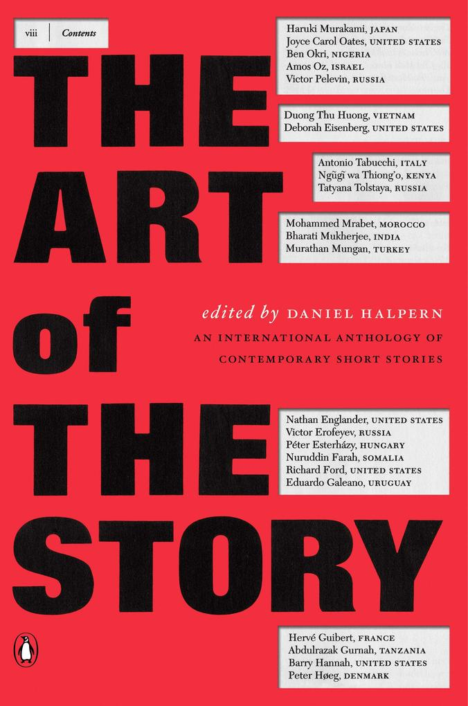 The Art of the Story: An International Anthology of Contemporary Short Stories als Taschenbuch