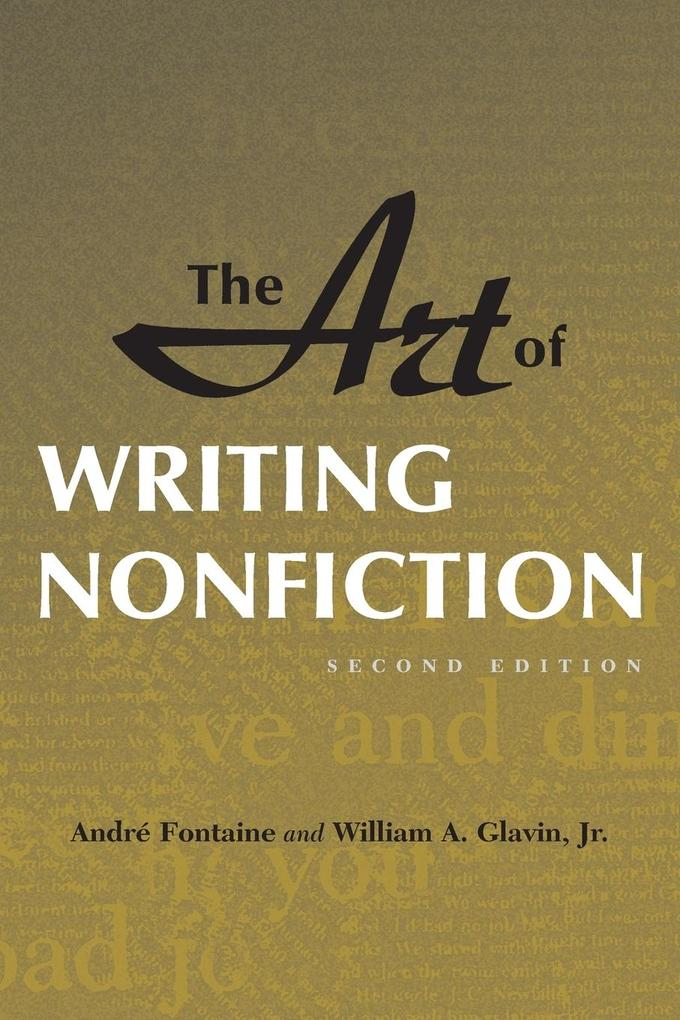 Art of Writing Nonfiction (Revised) als Taschenbuch