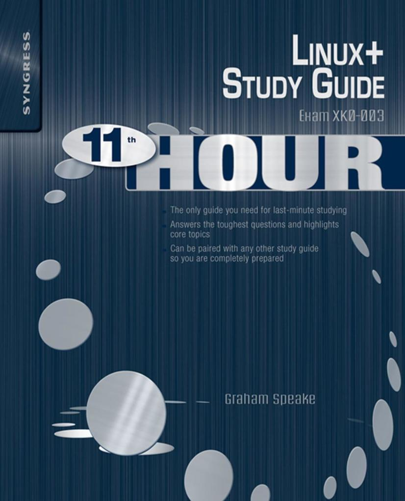 Eleventh Hour Linux+ als eBook Download von Gra...