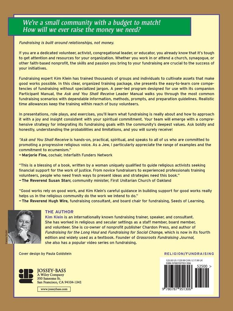 Ask Shall Receive Leader Manual als Taschenbuch