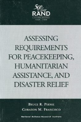 Assessing Requirements for Peacekeeping, Humanitarian Assist als Taschenbuch