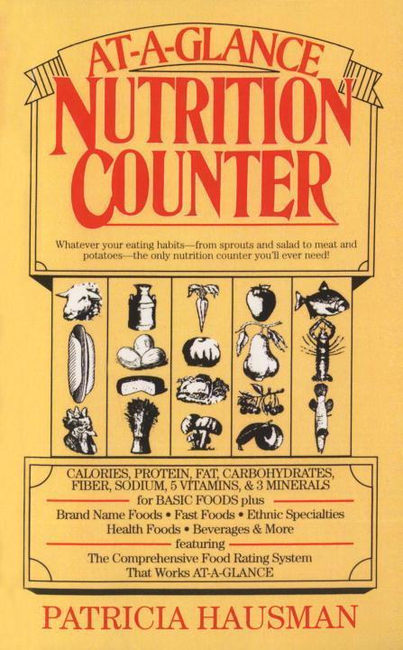 At-A-Glance Nutrition Counter als Taschenbuch