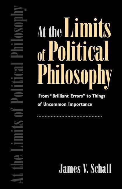 Limits Pol Philosophy als Taschenbuch