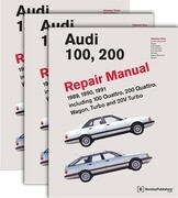 Audi 100, 200 Repair Manual--1989-1991: Including 100 Quattro, 200 Quattro, Wagon, Turbo and 20-Valve Models