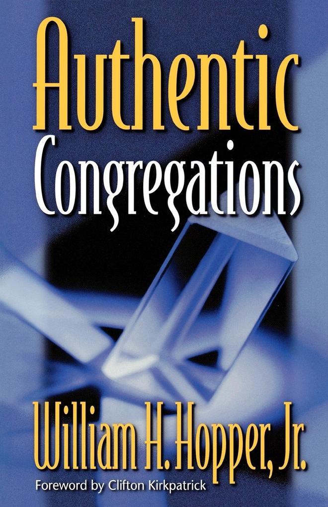 Authentic Congregations als Taschenbuch