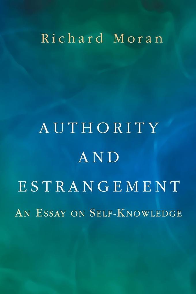 Authority and Estrangement als Taschenbuch