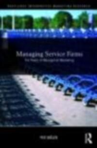 Managing Service Firms als eBook Download von P...