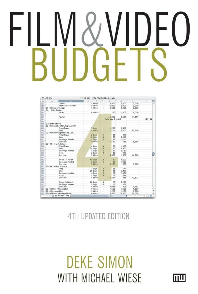 Film & Video Budgets als eBook Download von Dek...