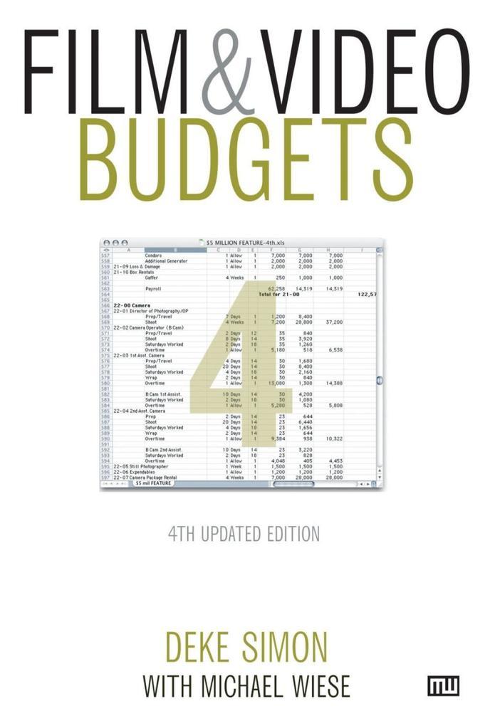 Film & Video Budgets als eBook Download von Dek...
