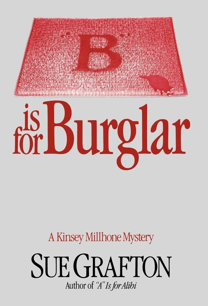 B Is for Burglar als Buch