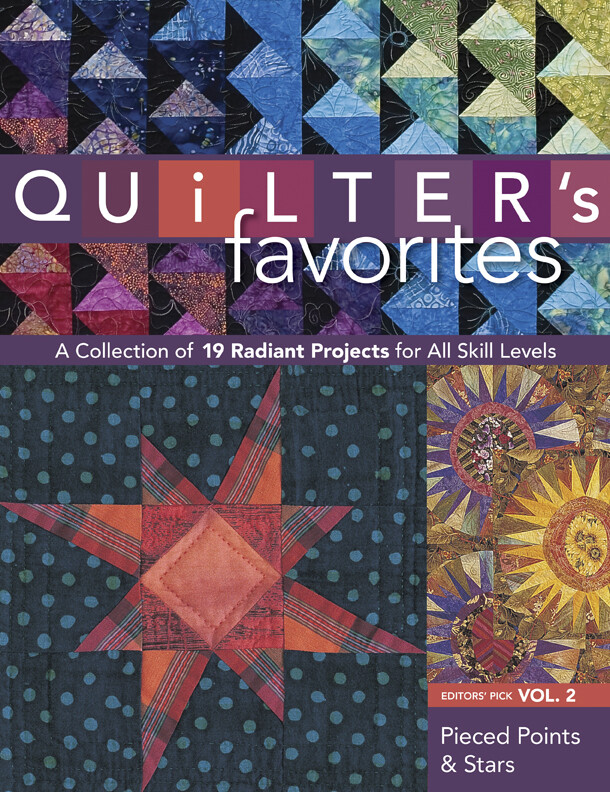 Quilter´s Favorites--Pieced Points & Stars als ...