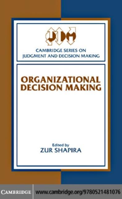 Organizational Decision Making als eBook Downlo...