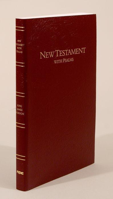 Bible Kjv Keystone L/P NT & Psalms Burg als Taschenbuch