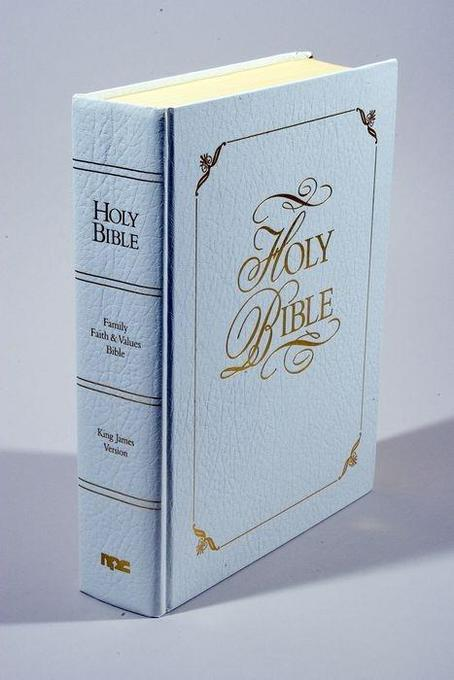 Family Faith & Values Bible-KJV-Gift als Buch