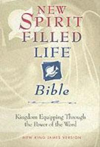 NKJV, New Spirit-Filled Life Bible, Bonded Leather, Burgundy, Red Letter Edition als Buch