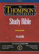 Thompson Chain Reference Study Bible-NASB als Buch