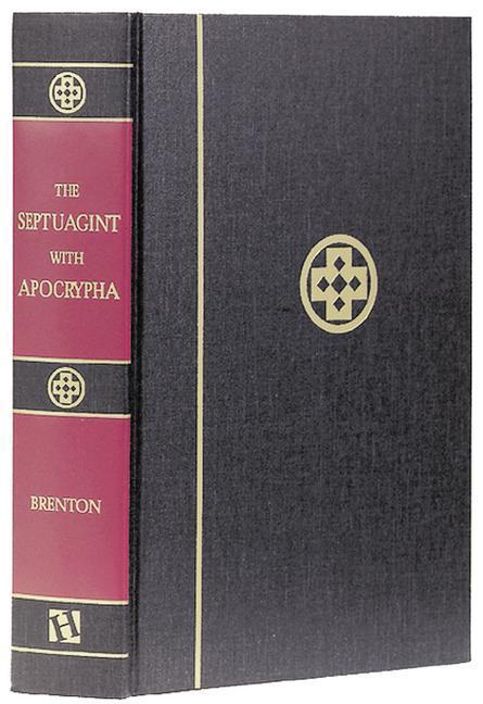 Septuagint with Apocrypha-PR-Greek/English als Buch (gebunden)