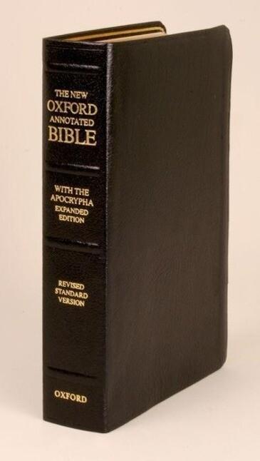 New Oxford Annotated Bible-RSV als Buch (Ledereinband)