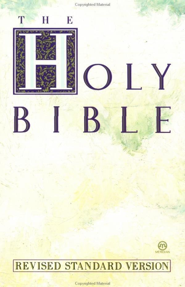 Text Bible-RSV als Taschenbuch