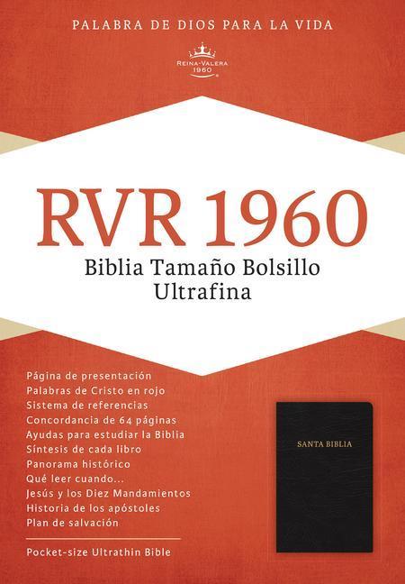 Pocket Size Bible-RV 1960 als Buch