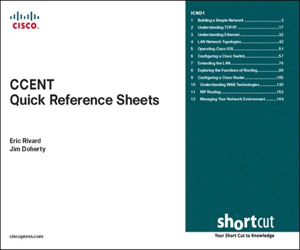 CCENT Quick Reference Sheets (Exam 640-822) als...