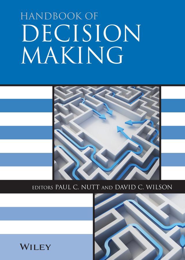 Handbook of Decision Making als eBook Download von