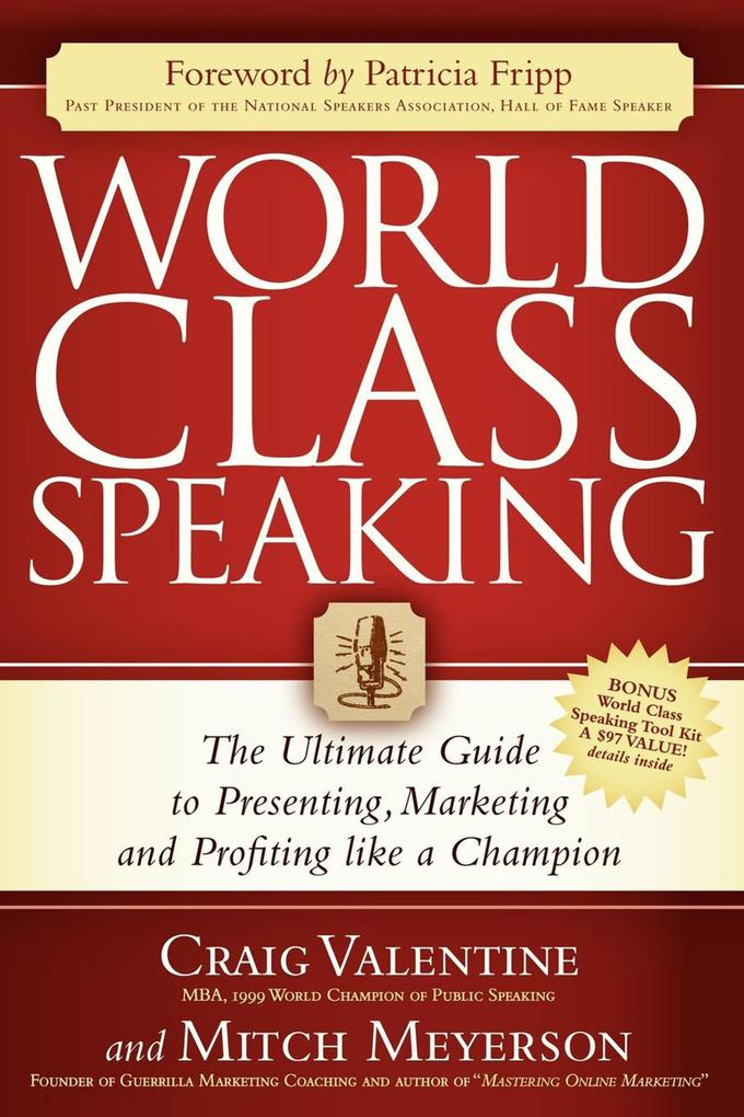 World Class Speaking als eBook Download von Cra...