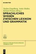 Sprachliches Wissen zwischen Lexikon und Grammatik