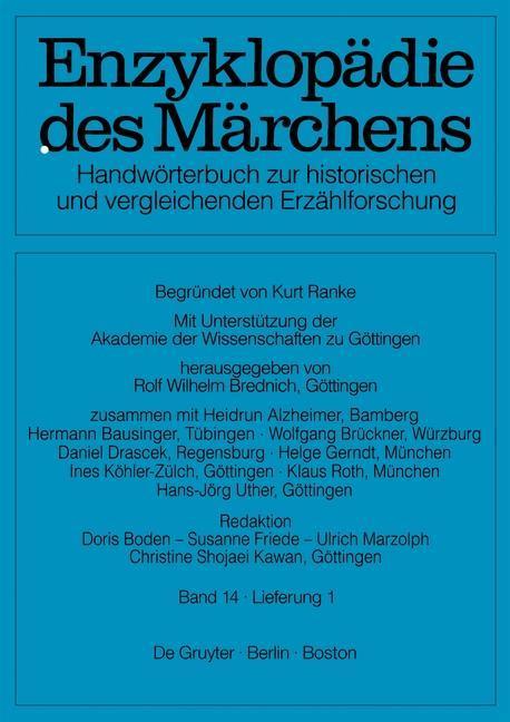 Enzyklopädie des Märchens Band 14 Lieferung 1 V...