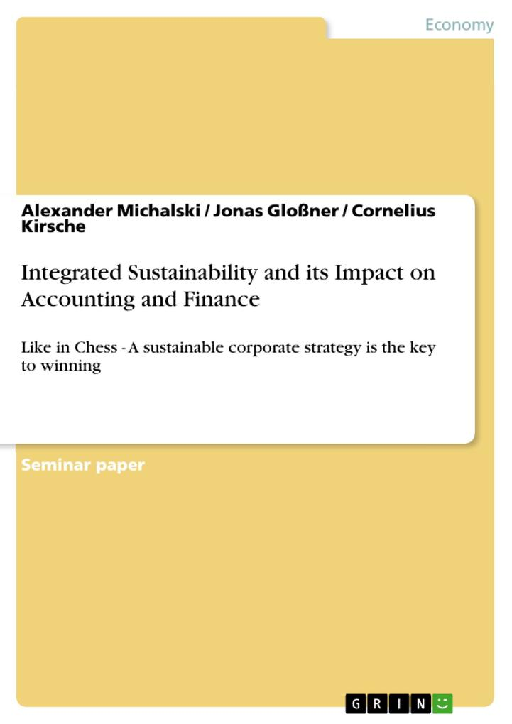Integrated Sustainability and its Impact on Acc...