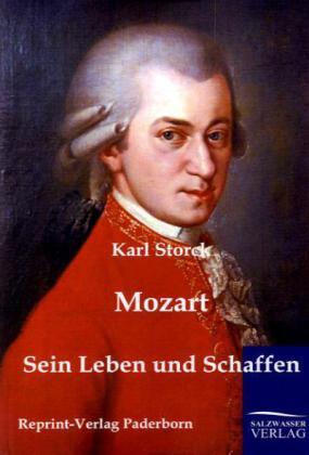 Mozart als Buch von Karl Storck