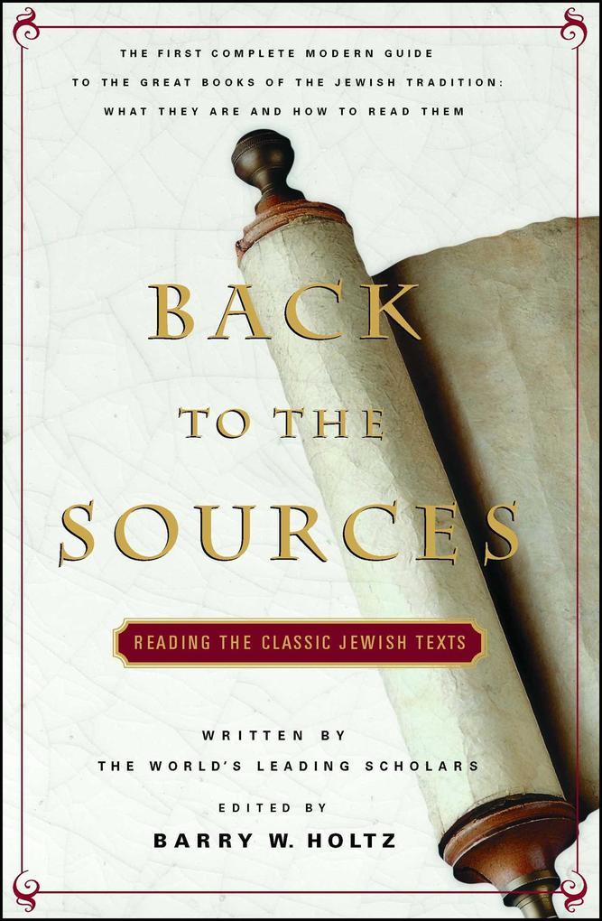 Back to the Sources als Taschenbuch