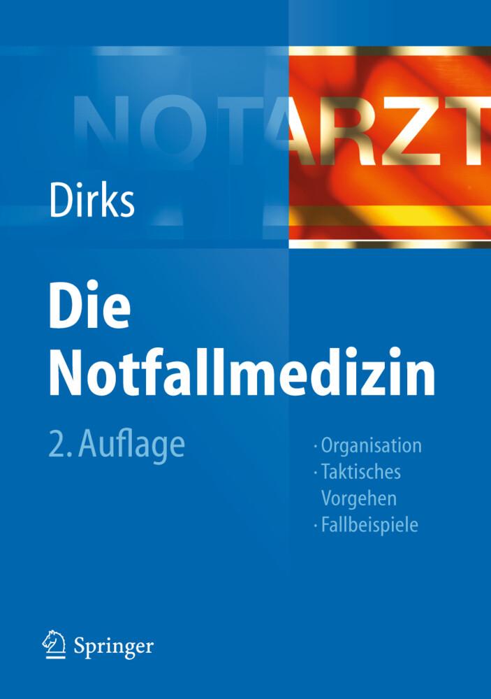 Die Notfallmedizin als Buch von