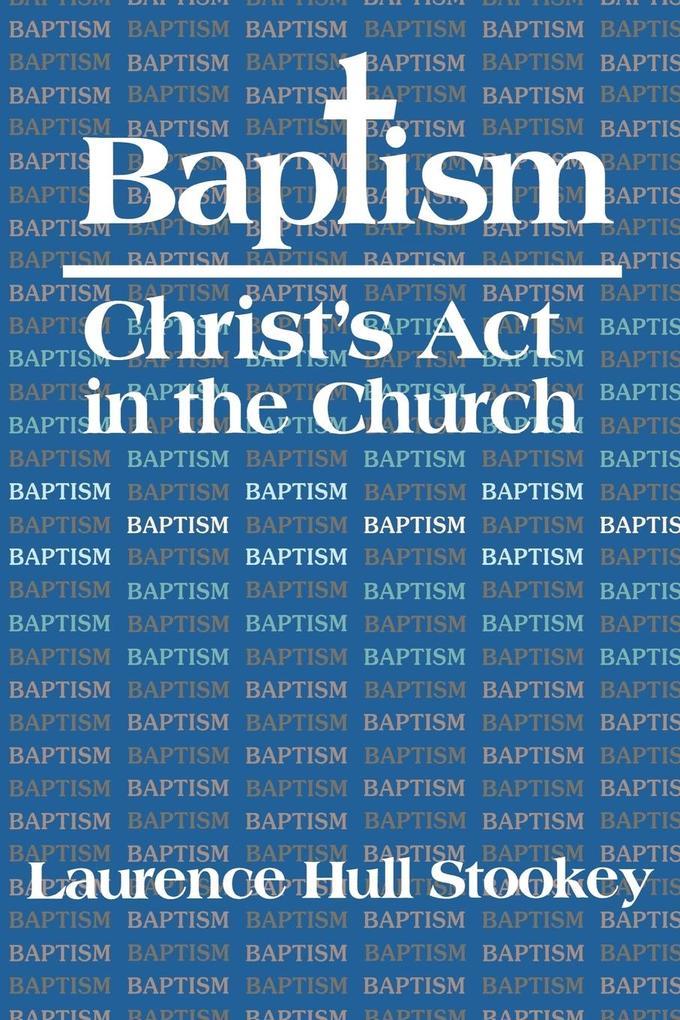 Baptism als Taschenbuch