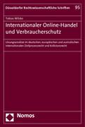 Internationaler Online-Handel und Verbraucherschutz