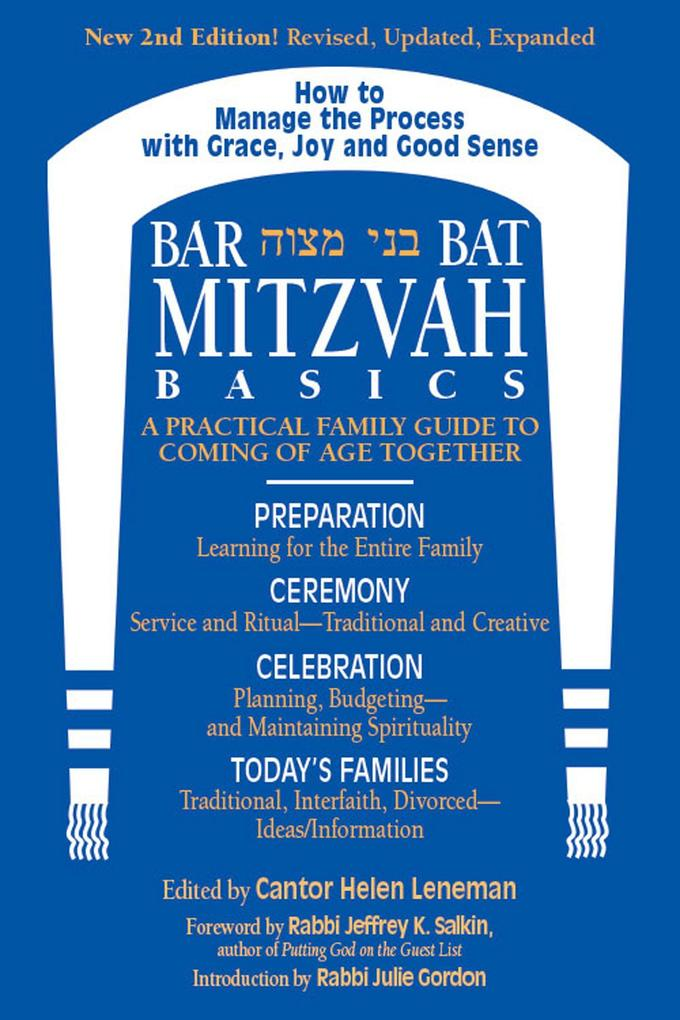 Bar/Bat Mitzvah Basics 2/E: A Practical Family Guide to Coming of Age Together als Taschenbuch