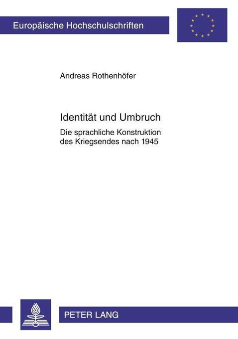 Identität und Umbruch als Buch von Andreas Roth...