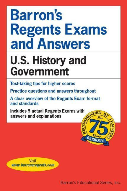 Regents Exams and Answers: U.S. History and Government als Taschenbuch