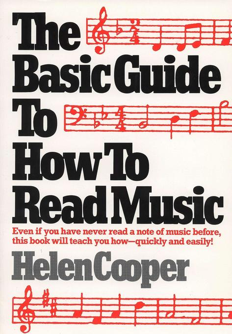 The Basic Guide to How to Read Music als Taschenbuch